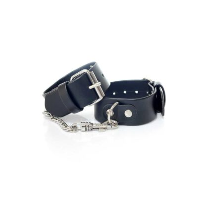 Fetish Boss Series Handcuffs with studs 3 cm 121E500 1