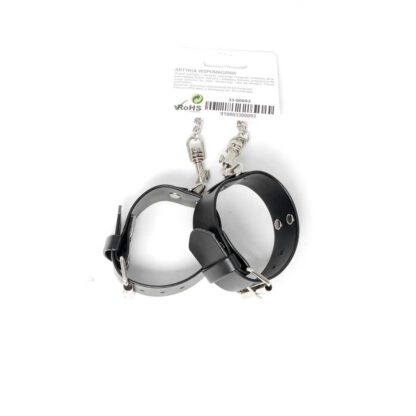 Fetish Boss Series Handcuffs with studs 3 cm 121E500 6