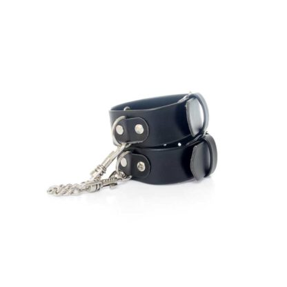 Fetish Boss Series Handcuffs with studs 3 cm 121E500 7