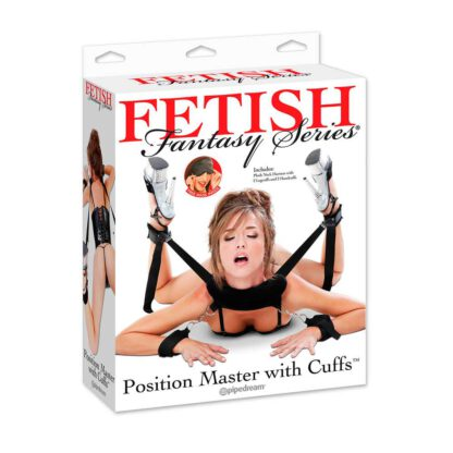 Fetish Fantasy Series Zestaw do krepowania Position Master with cuffs 101E148 4