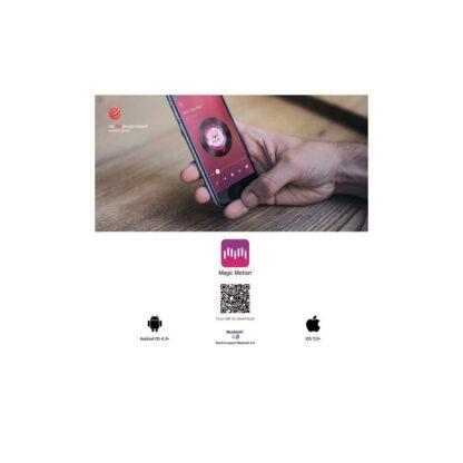 Jajeczko sterowane aplikacja Magic Motion Flamingo Vibrating Bullet 123E591 4