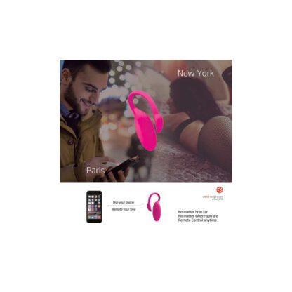 Jajeczko sterowane aplikacja Magic Motion Flamingo Vibrating Bullet 123E591 5