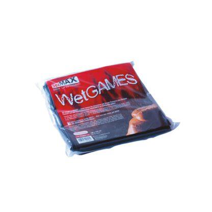 JoyDivision SexMAX WetGAMES 180 x 220 cm czarne 100E823 1