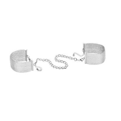 Kajdanki Bijoux Indiscrets Magnifique Handcuffs Silver 122E757 1
