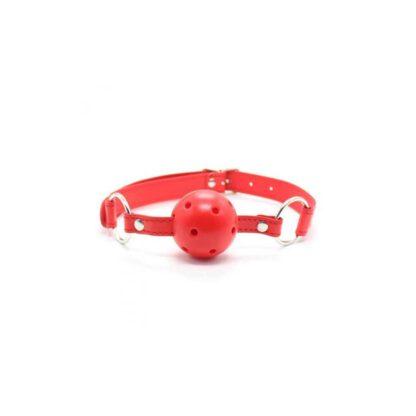 Knebel Breathable Ball Gag rosso 119E766 1