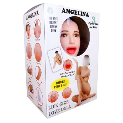 Lalka ANGELINA 3D Vibrating 132E880 1