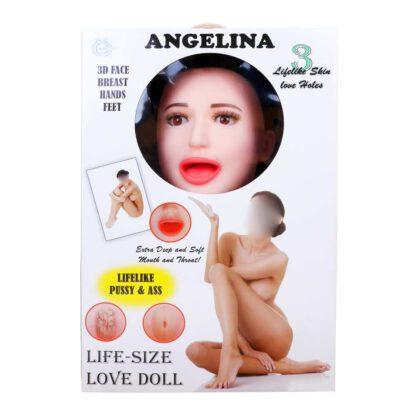 Lalka ANGELINA 3D Vibrating 132E880 2