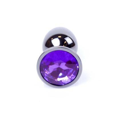 Plug Jewellery Dark Silver PLUG Purple 136E681 2