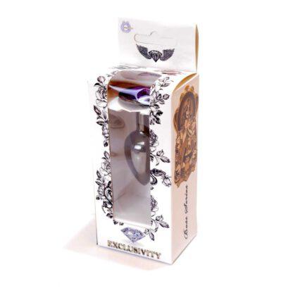 Plug Jewellery Dark Silver PLUG Purple 136E681 9