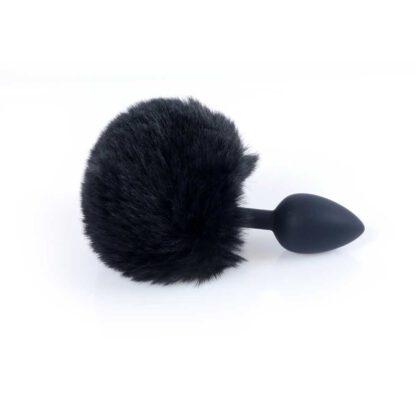 Plug Jewellery Silicon PLUG Bunny Tail Black 136E747 5