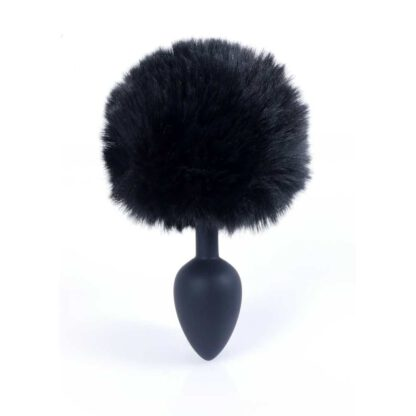 Plug Jewellery Silicon PLUG Bunny Tail Black 136E747 7