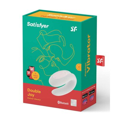 Satisfyer Double Joy White incl Bluetooth and App 174E225 7