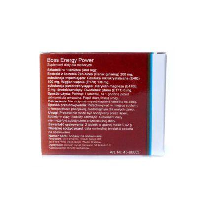 Supldiety Boss Energy Power Ginseng 2 szt 120E967 3