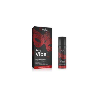 Zel SEXY VIBE HOT LIQUID VIBRATOR 15 ML 137E378 1