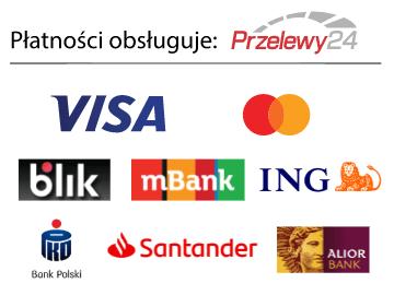 wygodne płatności online na sklepie obsługują przelewy24