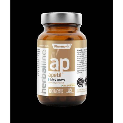 Apetil dobry apetyt 60 kapsulek Herballine Pharmovit 316E397 1