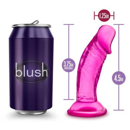 B YOURS SWEET N SMALL 4INCH DILDO PINK 115E934 5