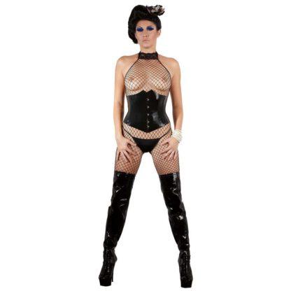 BIELIZNA BDSM LATEX WAIST CINCHER BLACK 2XL 162E850 5
