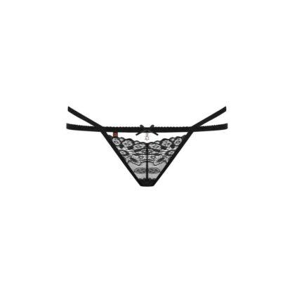 Bielizna 838 THO 1 stringi czarne S M 132E868 7