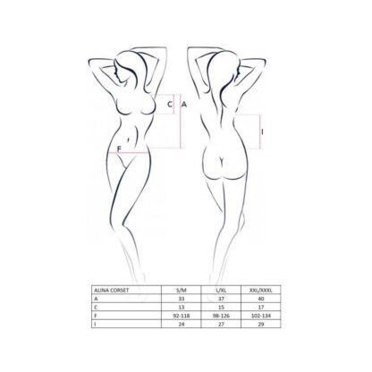 Bielizna ALINA CORSET black L XL Casmir 139E668 4