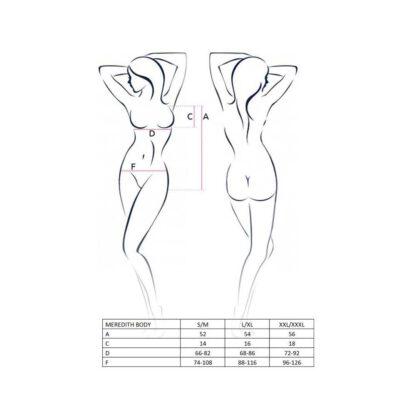 Bielizna MEREDITH BODY black L XL Casmir 139E928 4