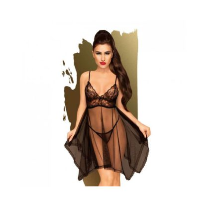 Bielizna Naughty doll black S M PENTHOUSE 301E599 1