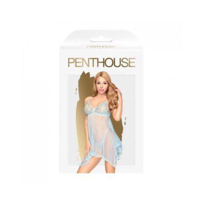 Bielizna Naughty doll blue L XL PENTHOUSE 301E610 2