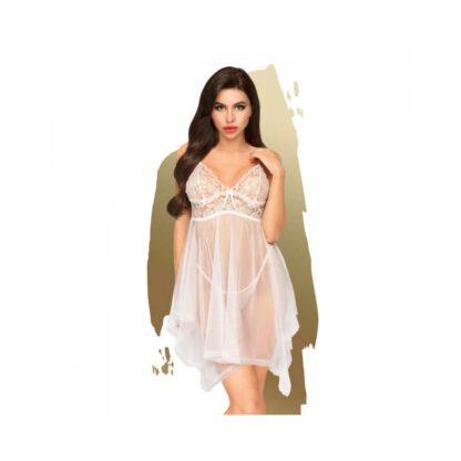 Bielizna Naughty doll white S M PENTHOUSE 301E602 1