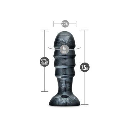 KOREK ANALNY JET BRUISER CARBON METALLIC BLACK 115E779 5