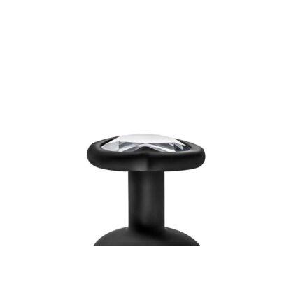 KOREK ANALNY TEMPTASIA BLING PLUG MEDIUM BLACK 115E906 6