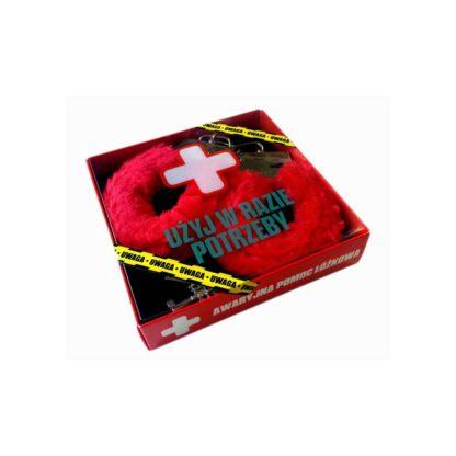 Kajdanki Awaryjne Kajdanki Czerwone 247E430 1