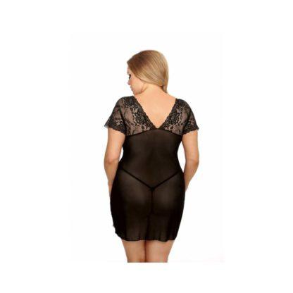 Marina black chemise XL czarna halka 121E527 2