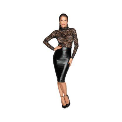 Noir Dress Lace L 266E204 1