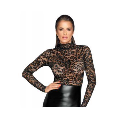 Noir Dress Lace L 266E204 2