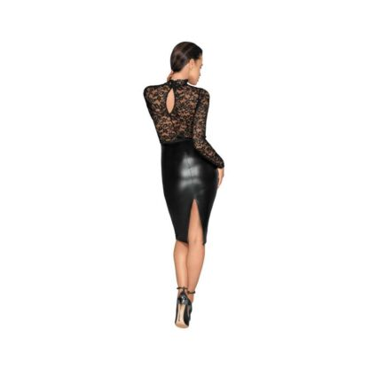 Noir Dress Lace L 266E204 5