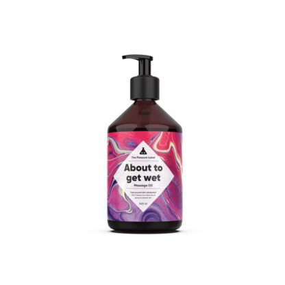 Olejek MASSAGE OIL ABOUT TO GET WET 500ML 120E935 1