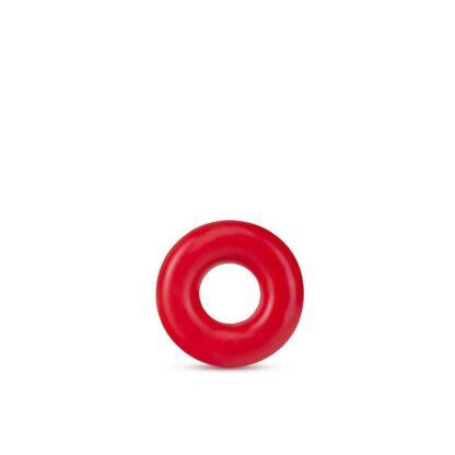 PIERSCIEN STAY HARD DONUT RINGS OVERSIZED RED 139E416 4