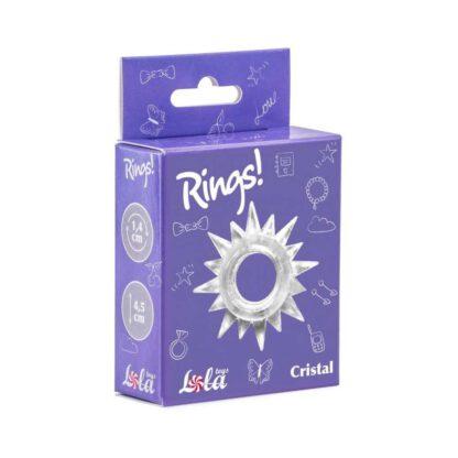 Pierscien Cockring Rings Cristal white 138E131 1