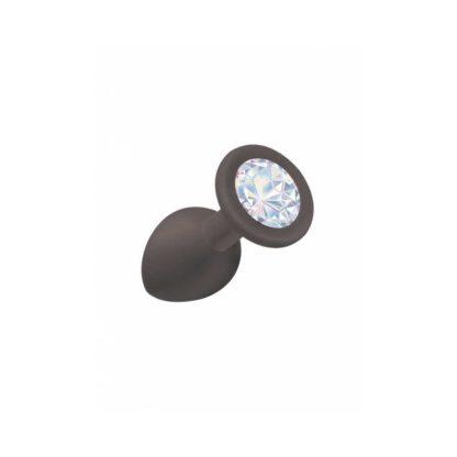 Plug Anal Emotions Cutie Small BLACK moonstone crystal 131E840 1