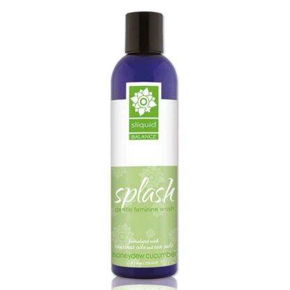 Plyn do higieny intymnej Sliquid Balance Splash Honeydew Cucumber 255 ml 140E480 1