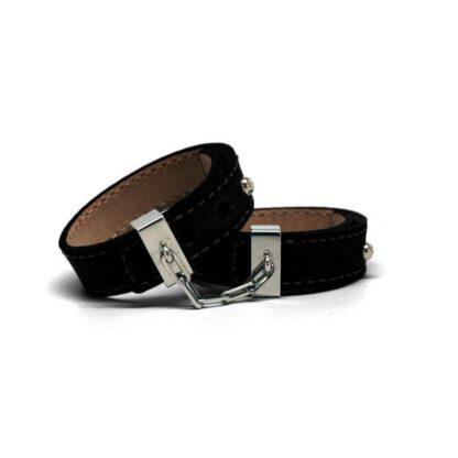 Skorzane kajdanki Crave Leather Cuffs 124E217 2