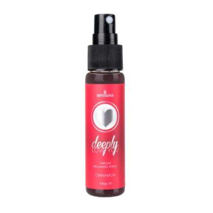Spray rozluzniajacy gardlo Sensuva Throat Relaxing Spray Cinnamon 123E570 1