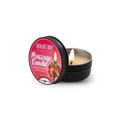 Swieca Massage Candle Sparkling Strawberry 30ml 304E096 1