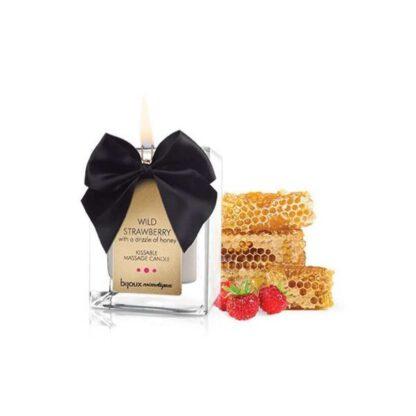 Swieca do masazu Bijoux Cosmetiques Wild Strawberry Massage Candle Truskawka 312E949 1