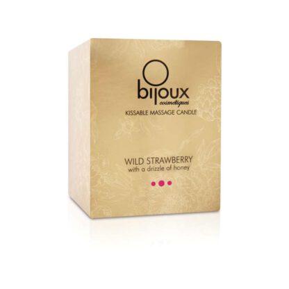 Swieca do masazu Bijoux Cosmetiques Wild Strawberry Massage Candle Truskawka 312E949 2