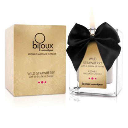 Swieca do masazu Bijoux Cosmetiques Wild Strawberry Massage Candle Truskawka 312E949 4