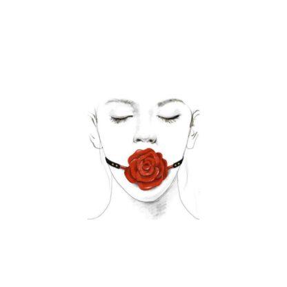 ZALO UPKO Doll Series Rose Ball Gag 139E362 4