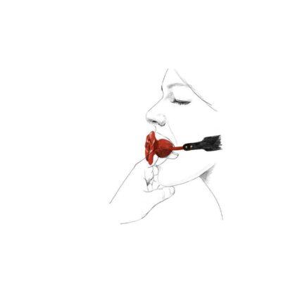 ZALO UPKO Doll Series Rose Ball Gag 139E362 5